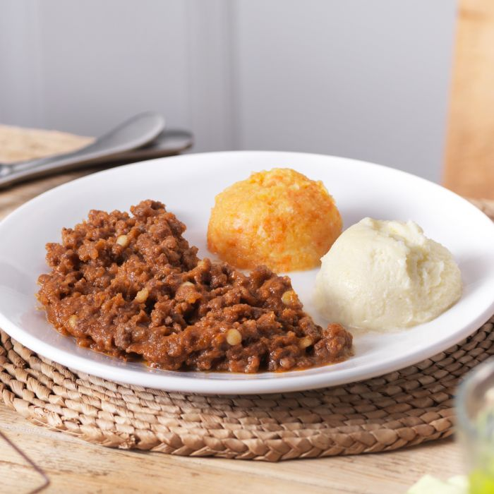 Minced & Moist Beef Bolognese